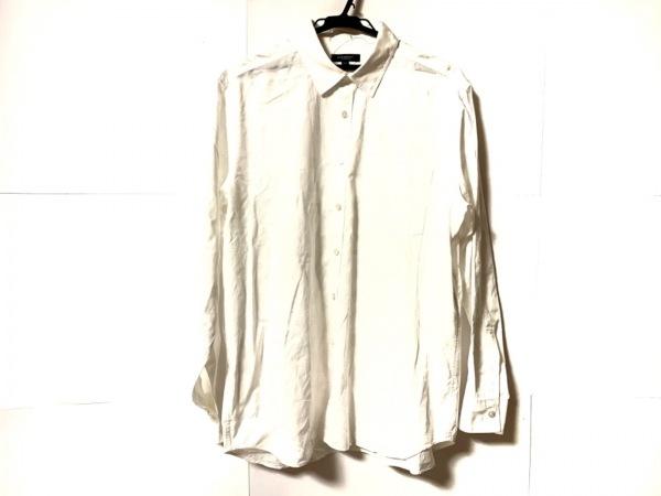 Burberry LONDON(バーバリーロンドン) 長袖シャツ サイズLL メンズ美品  白