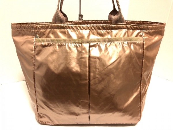 LESPORTSAC(レスポートサック) ハンドバッグ美品  ピンク 化学繊維