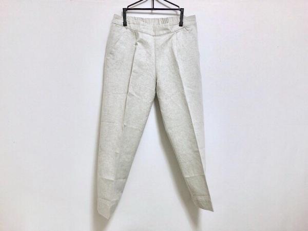 mizuiro  ind(ミズイロインド) パンツ サイズ2 M レディース ライトグレー