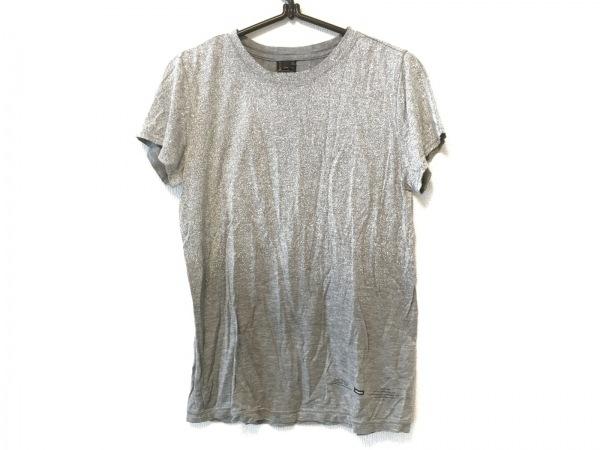SOV.(ソブ ダブルスタンダード) 半袖Tシャツ サイズF レディース グレー×白
