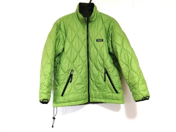 エーグル ダウンジャケット サイズM レディース美品  ライトグリーン×ダークグリーン