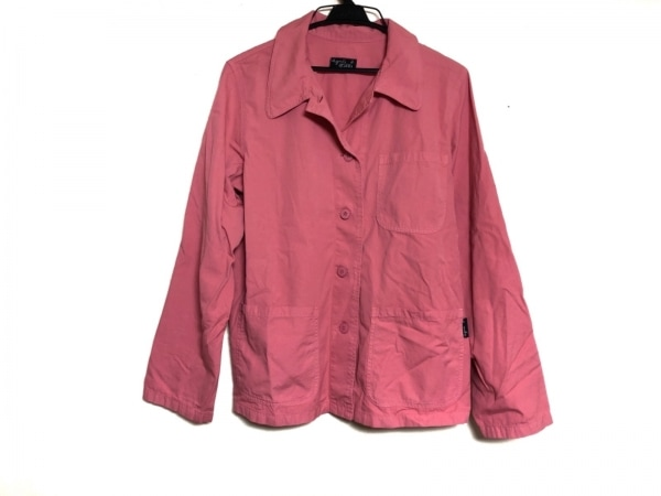 agnes b(アニエスベー) 長袖シャツブラウス サイズ38 M レディース ピンク