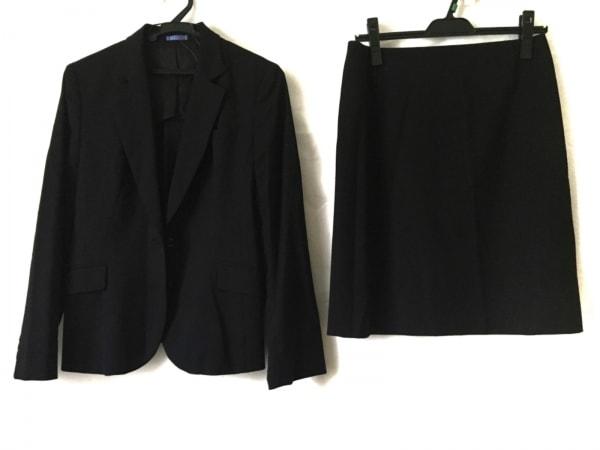 LES MUES(レミュー) スカートスーツ サイズM レディース 黒