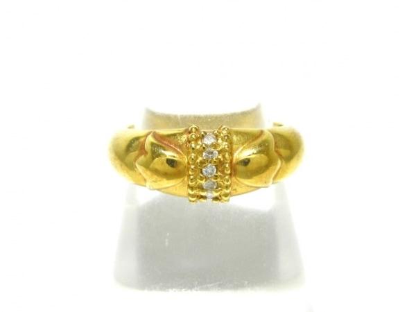 ChristianDior(クリスチャンディオール) リング K18YG×ダイヤモンド 0.05カラット