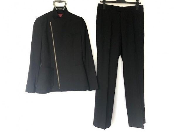 ゴルチエ レディースパンツスーツ サイズ42 L レディース新品同様  黒