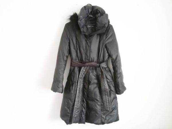 クードシャンス ダウンコート サイズ38 M レディース美品  黒 冬物