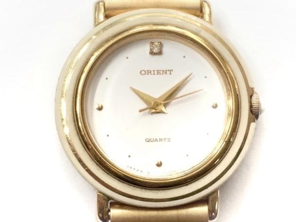 ORIENT(オリエント) 腕時計 A054C5-00 レディース ハート アイボリー