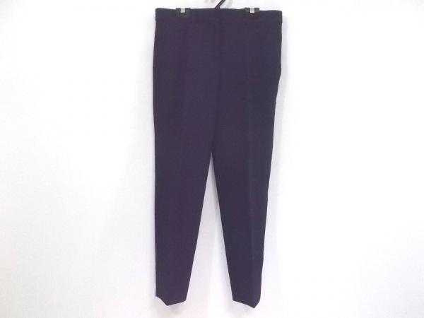 miumiu(ミュウミュウ) パンツ サイズ38 S レディース新品同様  ネイビー