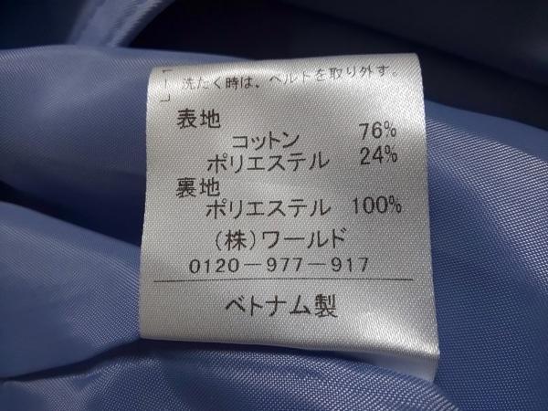 リフレクト トレンチコート サイズ9 M レディース美品  ライトブルー 春・秋物