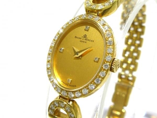 BAUME&MERCIER(ボーム&メルシエ) 腕時計 718489-959 レディース ゴールド