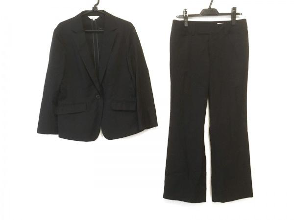 組曲 KUMIKYOKU(クミキョク) レディースパンツスーツ サイズ5 XS レディース 黒