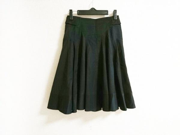 ドルチェアンドガッバーナ スカート サイズ38 S レディース 黒 バックル