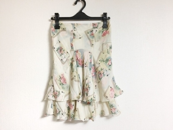 ブルーガール・アンナモリナーリ スカート サイズ38 M レディース 花柄