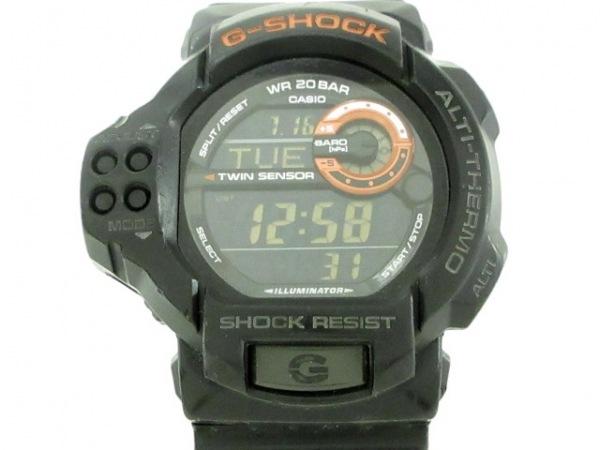 CASIO(カシオ) 腕時計 G-SHOCK GDF-100 メンズ 黒