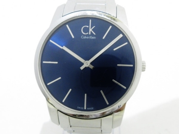 CalvinKlein(カルバンクライン) 腕時計 K2G 211 メンズ ネイビー