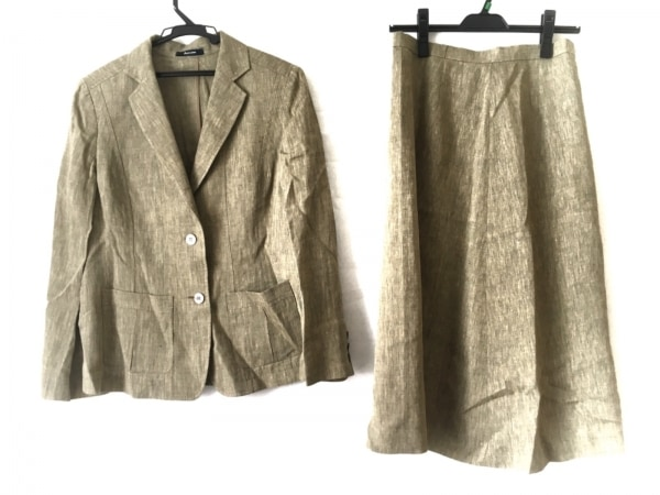 Aquascutum(アクアスキュータム) スカートスーツ サイズ5S レディース カーキ