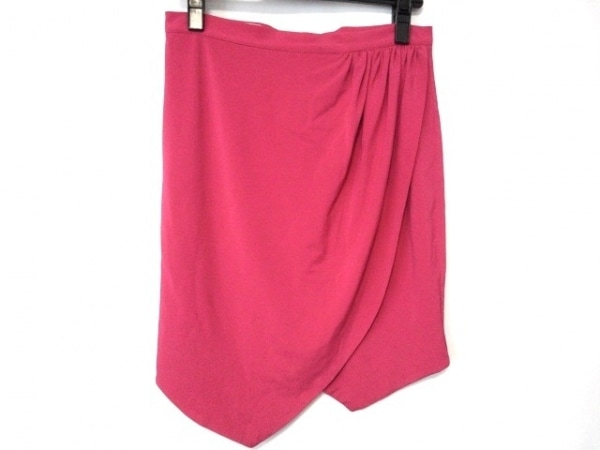 Ungaro fuchsia(ウンガロフューシャ) スカート サイズ38 M レディース美品  ピンク