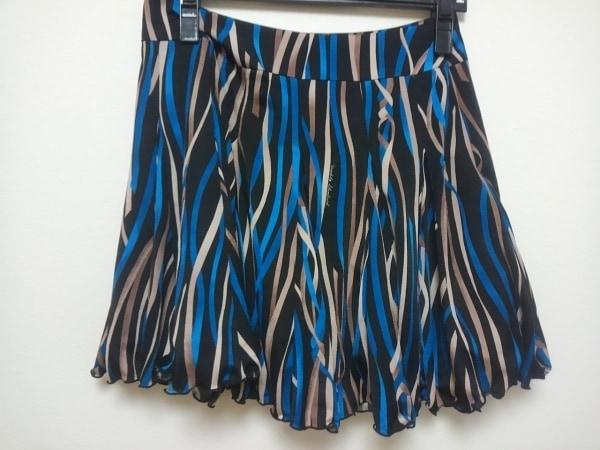 SOV.(ソブ ダブルスタンダード) ミニスカート サイズ36 S レディース 黒×マルチ