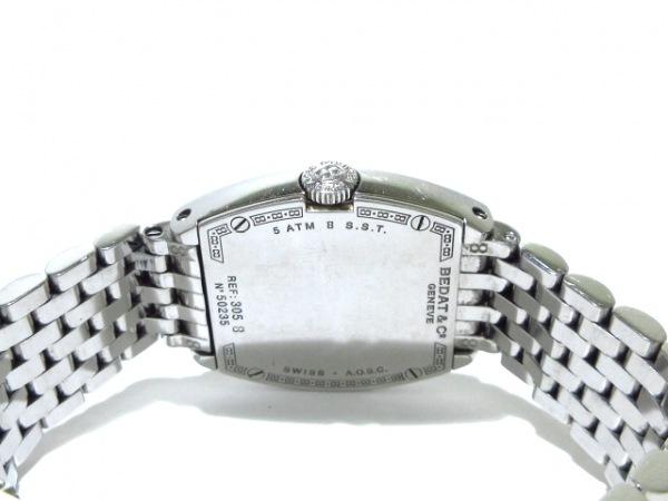 ベダアンドカンパニー 腕時計 No.3 305/B305.011.109 レディース SS/8Pダイヤ 白