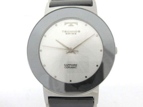 TECHNOS(テクノス) 腕時計 TBM674 メンズ シルバー