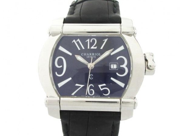 CHARRIOL(シャリオール) 腕時計美品  シャリオールアクター CCHTL レディース 黒