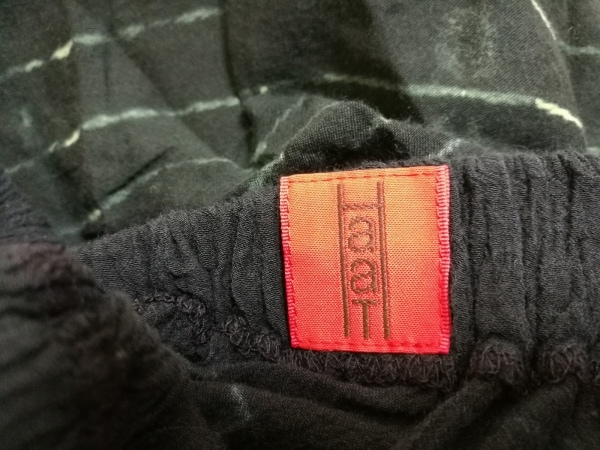 HaaT HeaRT(ハート) ロングスカート レディース 黒×ライトグリーン×ブルー