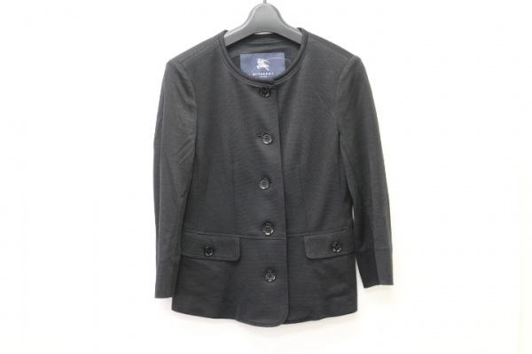 Burberry LONDON(バーバリーロンドン) ジャケット サイズ38 L レディース 黒 リボン