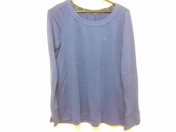 Burberry Blue Label(バーバリーブルーレーベル) 長袖Tシャツ レディース ブルー