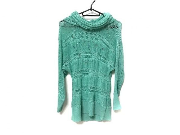 伊太利屋/GKITALIYA(イタリヤ) 長袖セーター サイズ15 L レディース グリーン