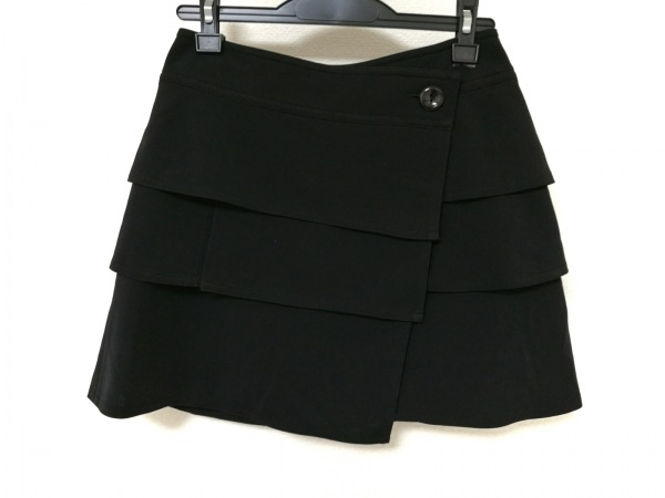 HIROKO BIS(ヒロコビス) 巻きスカート レディース 黒
