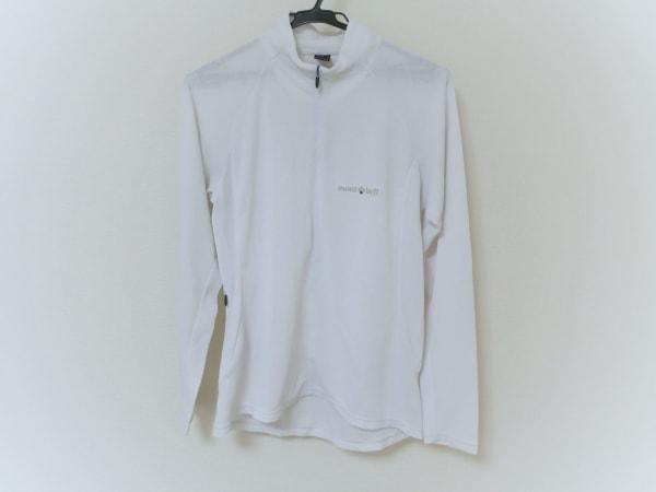mont-bell(モンベル) 長袖カットソー メンズ 白 ジップアップ