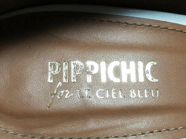 pippichic(ピッピシック) パンプス 37 レディース 白 レザー
