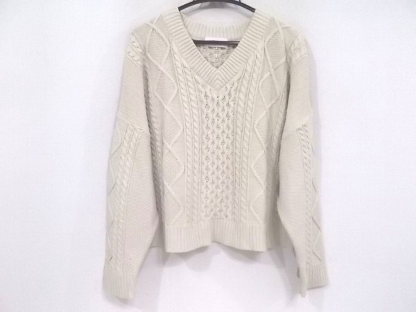 Mila Owen(ミラオーウェン) 長袖セーター サイズ0 XS レディース美品  アイボリー