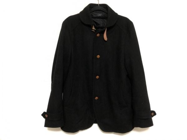 JUN MEN(ジュンメン) コート サイズL メンズ 黒×ブラウン 冬物