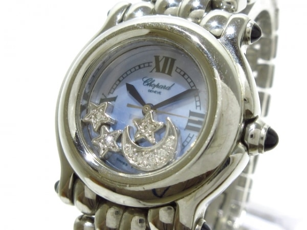 Chopard(ショパール) 腕時計 ハッピースポーツ 27/8250-23 レディース シェルブルー
