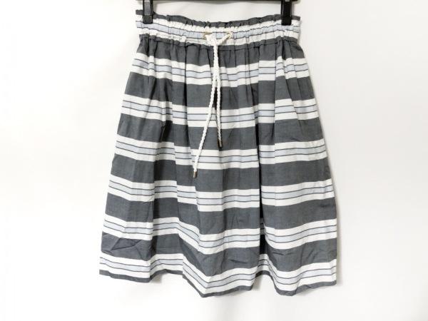 ブルーレーベルクレストブリッジ スカート サイズ38 M レディース美品