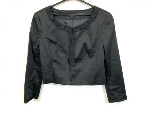 TOCCA(トッカ) ジャケット サイズ4 S レディース 黒 フラワー