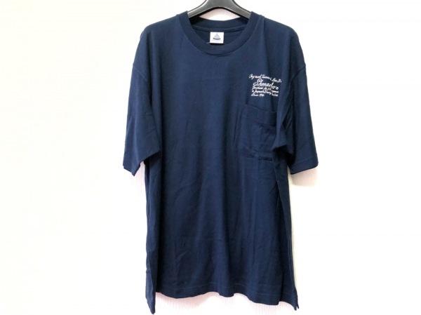 Shonanbo(ショーナンボー) 半袖Tシャツ サイズL メンズ ダークネイビー×白
