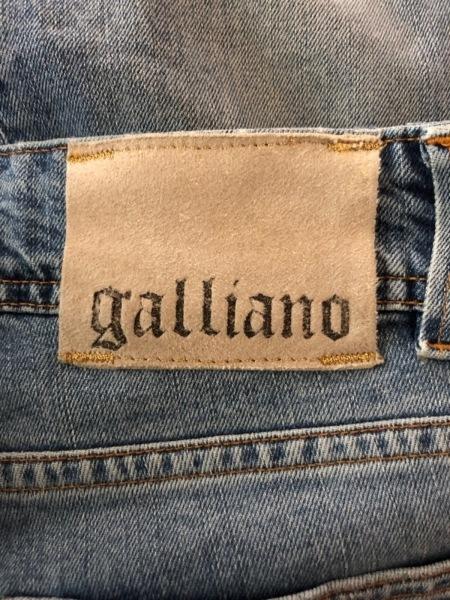 galliano(ガリアーノ) ジーンズ レディース ブルー スタッズ/ラインストーン
