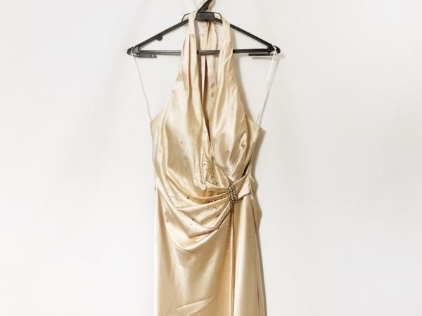 JEAN MACLEAN(ジーンマクレーン) ドレス サイズ9 M レディース ベージュ