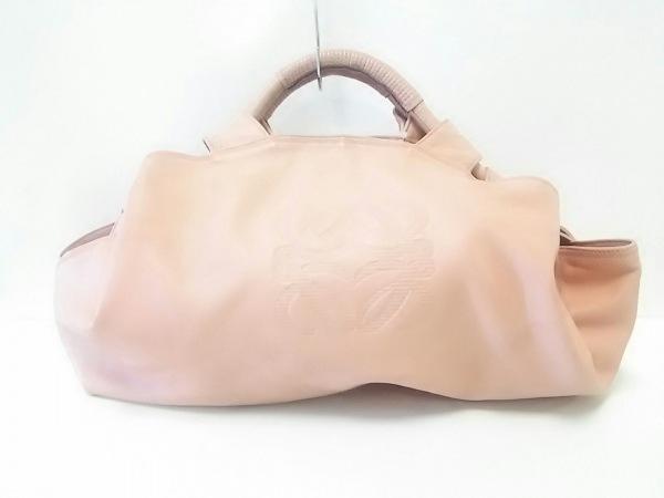 LOEWE(ロエベ) ハンドバッグ - ピンク ナッパレザー