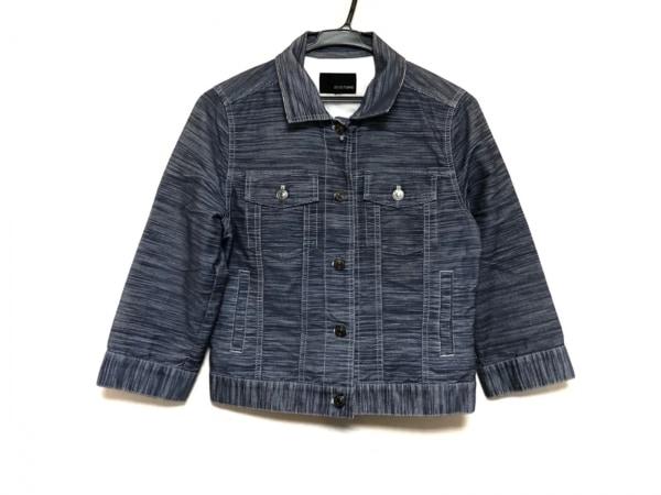 ヴァンドゥ オクトーブル ジャケット サイズ38 M レディース美品  ネイビー