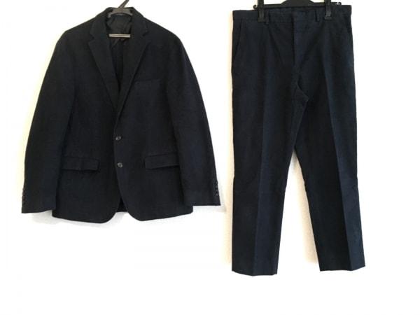 ポロラルフローレン シングルスーツ サイズ40 M メンズ ダークネイビー