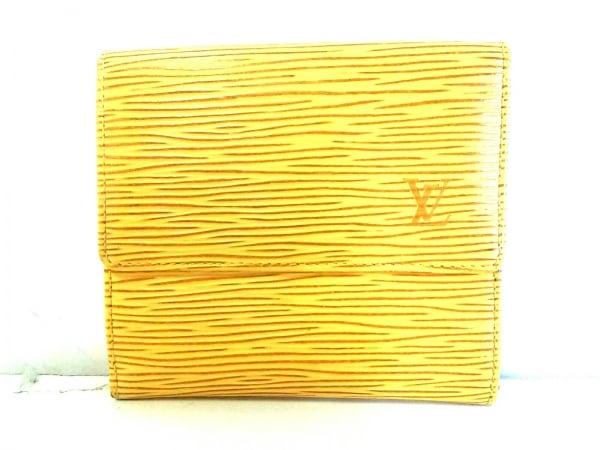 ルイヴィトン Wホック財布 エピ美品  ポルト モネ・ビエ カルト クレディ M63489