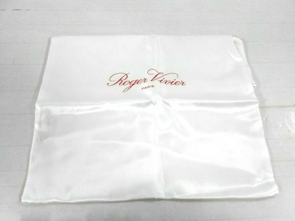 ロジェヴィヴィエ パンプス 37 1/2 レディース美品  RVW41417620JERB999 黒×シルバー