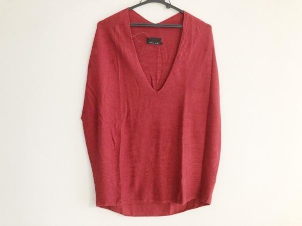 AULA(アウラ) ノースリーブセーター サイズ0 XS レディース レッド
