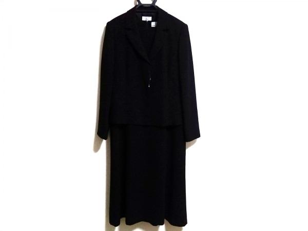組曲 KUMIKYOKU(クミキョク) ワンピーススーツ サイズ6 M レディース 黒