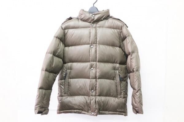 AIGLE(エーグル) ダウンジャケット サイズM メンズ美品  カーキ 冬物
