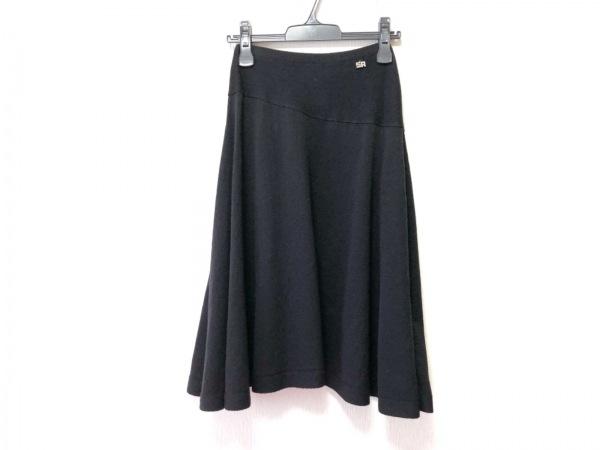 SONIARYKIEL(ソニアリキエル) スカート サイズ38 M レディース 黒 ラインストーン