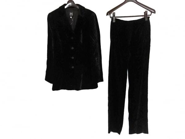 SUI ANNA SUI(スイ・アナスイ) レディースパンツスーツ サイズ40 M レディース 黒